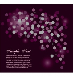 Abstract starlight background vector