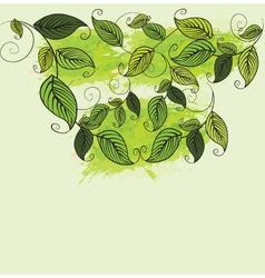 Artistic nature vector