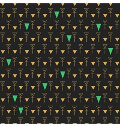Abstract seamless pattern gold and dark gray1z1 vector
