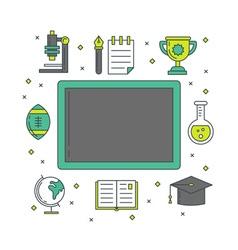 School banners templates vector image vector image