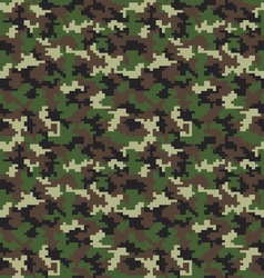 fashion camouflage pattern vector image