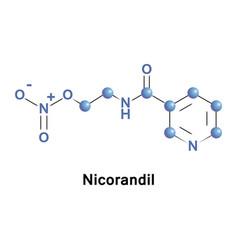 Nicorandil is a vasodilatory drug vector