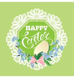 Easter card 3 380 vector