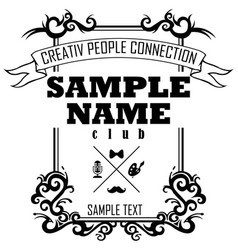 Creativ people connection vector