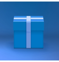 Gift box realistic present gift box vector