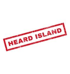 Heard island rubber stamp vector