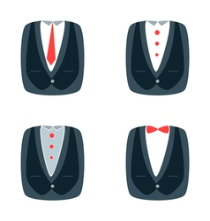suit for businessman vector image