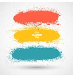 Summer Style Grunge Banners vector image vector image