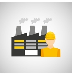 Industrial work design vector