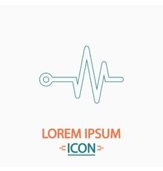Pulse computer symbol vector