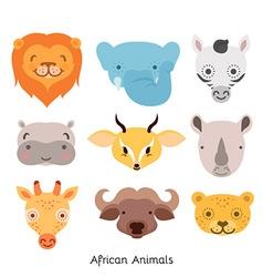 African Animal Set vector image