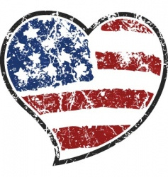 American love vector image