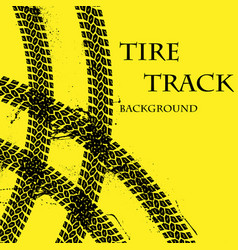 Tire tracks wallpeper vector