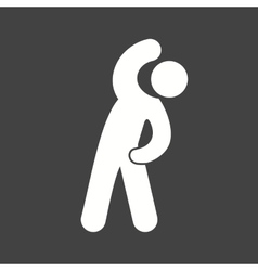Stretch exercise vector