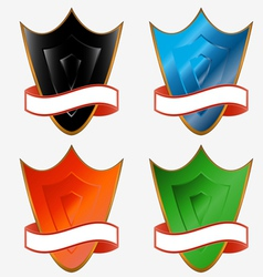 Four boards vector