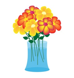 Flower case vector
