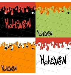 helloween background vector image vector image