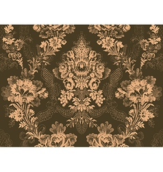 Victorian floral pattern abstract flower rose vector image