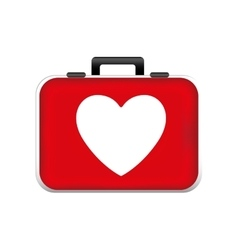 First aid kit icon image vector