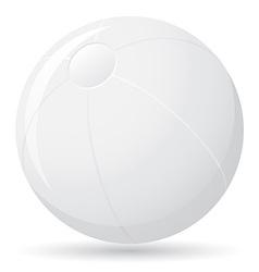 beach ball 01 vector image