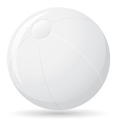 beach ball 01 vector image vector image