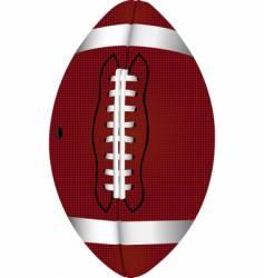 Football pigskin vector