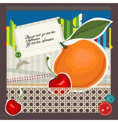 paper craft vector image vector image