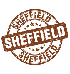 Sheffield stamp vector