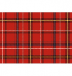 The scottish plaid vector