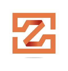 Logo design symbolhexa z perfect icon vector
