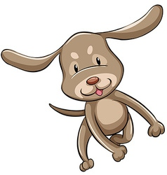 A puppy vector