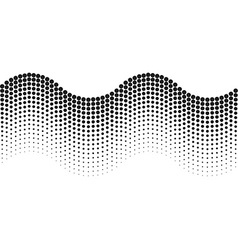 Abstract background halftone wave vector