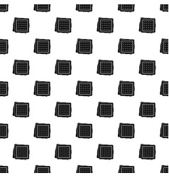 Biscuit pattern vector