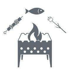 Braziermeatmarshfish vector