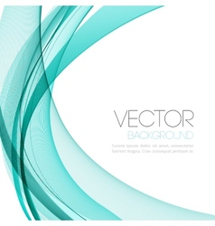 Abstract color lines background template leaflet vector