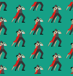 Tango seamless pattern vector