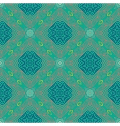 Floral geometric pattern contemporary style vector