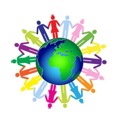 Children world vector image
