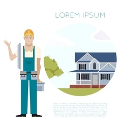 Home building banner2 vector