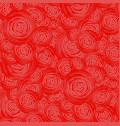 Bouquet of roses random seamless pattern vector