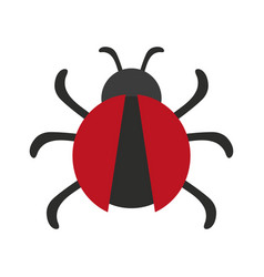 bug or beatle icon image vector image