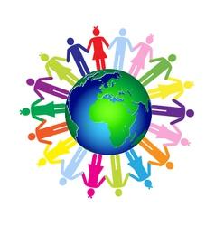 Children world vector image vector image
