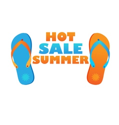hot sale summer vector image vector image