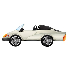 An elegant sports car vector