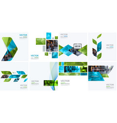 Business design elements for graphic layout vector
