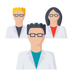 scientific community icon vector image