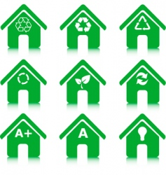 greenhousess vector image