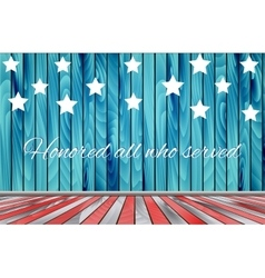 Veterans day background vector