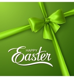 Holiday religious easter lettering vector