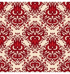 Damask ethnic seamless pattern vector